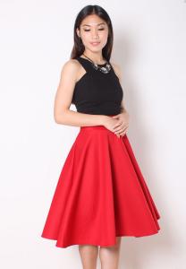 Mira Flare Skirt: RM69