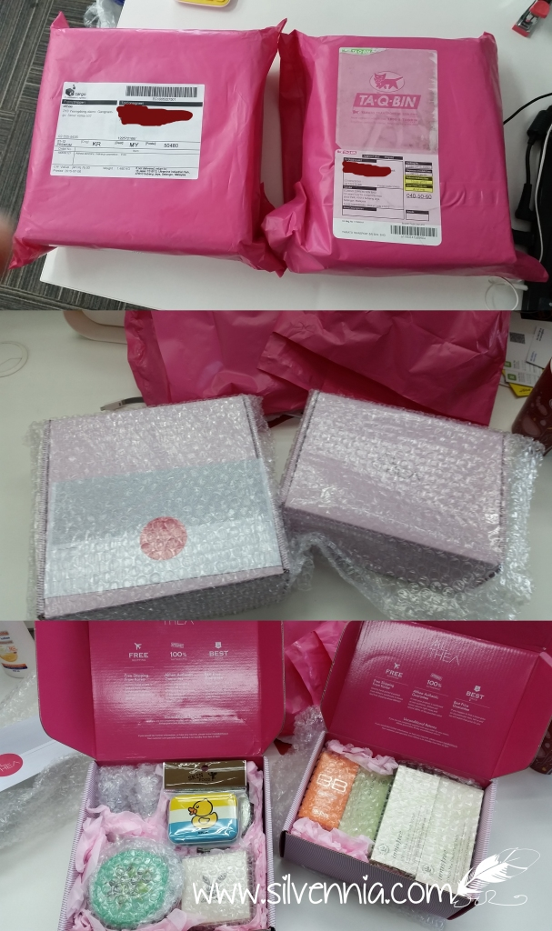 Unboxing Althea Korea