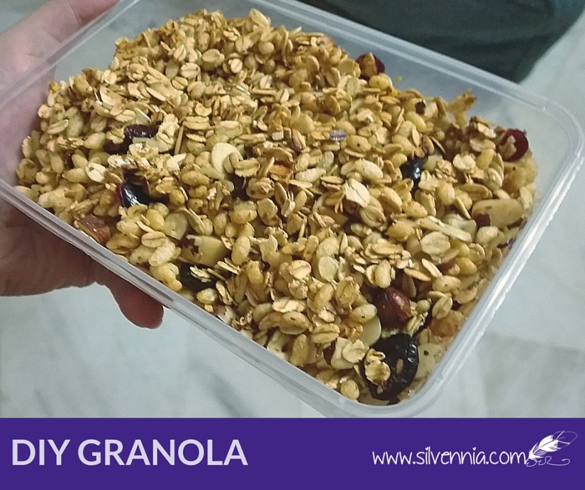 Homemade Fruits & Nuts Granola