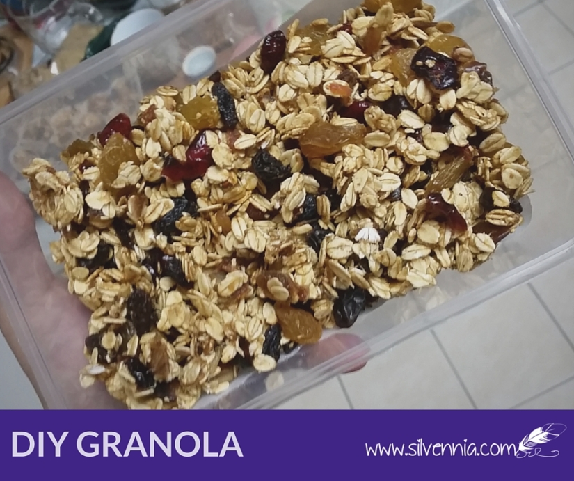 Homemade Fruity Granola