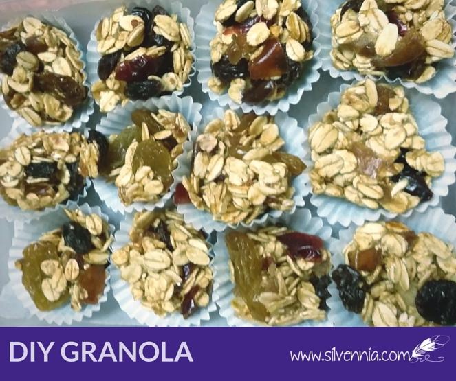 Homemade Fruity Granola