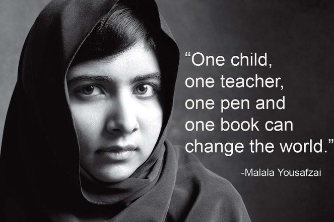 He Named Me Malala - Inspirational Quote