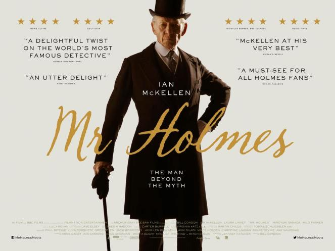 Mr Holmes starring Ian McKellen