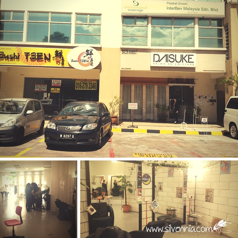 Daisuke Salon de Coiffure @ Petaling Jaya, Malaysia