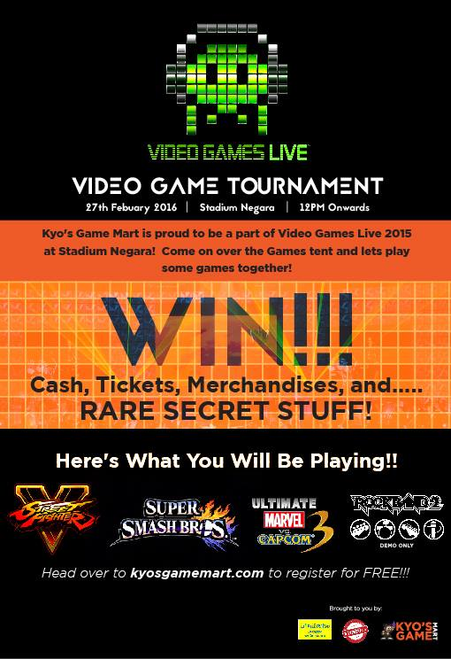 Video Games Live activities