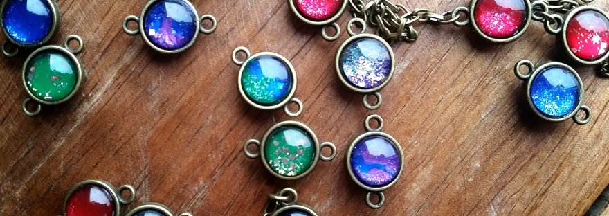 handmade glass cabochon by silvennia