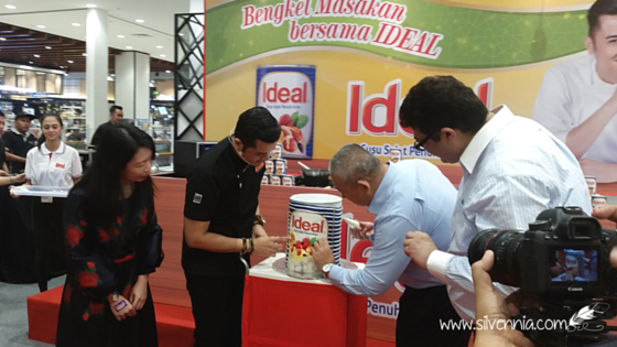 IDEAL Full Cream Evaporated Milk launch