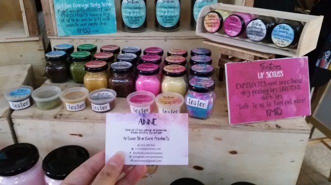 Handmade body beauty care products