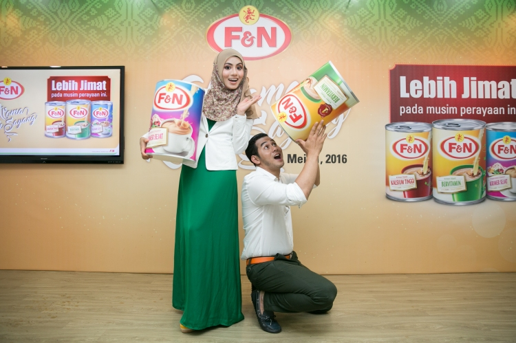 Celebrity Couple : Fizo Omar and Mawar Karim
