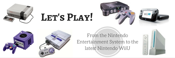 Play from the Nintendo Entertainment System (NES) to the latest Nintendo WiiU